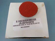 2 X 40 Grain Sanding Discs 3m Roloc Abrasive 20549 45 Each