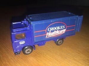 MATCHBOX 1:87 SCALE VOLVO BOX TRUCK CROOKES HEALTHCARE!