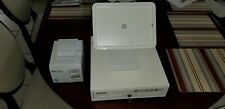 Compact Receipt Printer Mini Cash Drawer Square Register Stand for iPad white