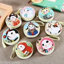 Mini Cute Cat Design Small Money Bag Purse Cartoon Money Wallet Women Gift