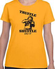 154 Truffle Shuffle women's T-Shirt goonies 80s movie chunk funny vintage retro