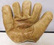 Wilson 679 (OVS) Vintage Left Handed Softball Glove Missing Web G-VGC Rare