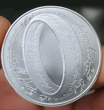 2003 Lord of The Rings Medal About Silver Dollar Size