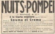 W7328 Cipria NUITS DE POMPEI - Pubblicità del 1932 - Old advertising