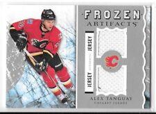 2012 13 UD Artifacts Alex Tanguay Frozen Fabrics Dual Jersey Card