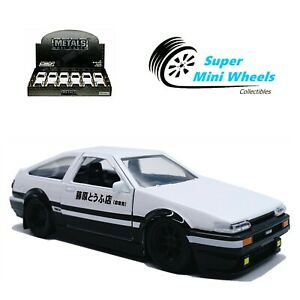 Jada 1:32 - Initial D - 1986 Toyota Corolla Trueno AE86 - Diecast Car