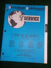 1994 Johnson Evinrude Parts Catalog Manual 25D 40 50 HP 35 JET Final Edition