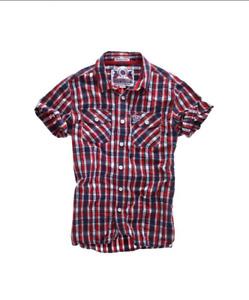 Superdry Men's Washbasket Check S/S Shirt