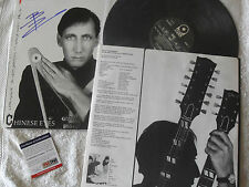 PETE TOWNSHEND THE WHO SIGNED CHINESE EYSE LP PSADNA COA