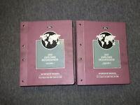 1997 Ford Explorer & Mercury Mountaineer Service Shop Repair Manual Set 2 VOL