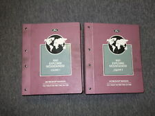 1997 Ford Explorer & Mercury Mountaineer Service Shop Repair Manual Set OEM
