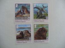 WWF 1143-1146 walrus 2011 Falkland Islands postfris-mnh