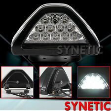 New Universal F1 style 12-LED White Rear Tail Reverse Back-up Light Clear Lens