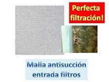 MALLA PROTECCION ENTRADA FILTRO cría de alevines Discos gambas escalares acuario