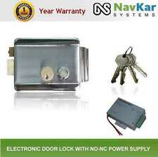 Electronic Door Lock with NO NC Power supply 12V DC 3 Amp