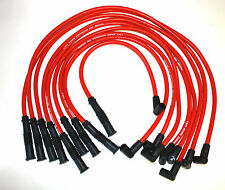 OLDSMOBILE RED HEI 10 MM SPARK PLUG WIRES 307,330,350.403,400,425,455