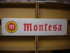 Montesa Trials workshop  garage banner,Cota 123, 247, 348 etc