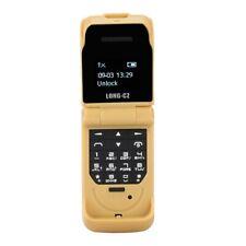 Flip Phone Unlocked Mini Portable Keyboard Keyboard Mobile Phone Dual Sim Card