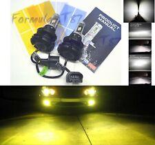LED Kit X3 50W 9008 H13 3000K Yellow Head Light Two Bulbs High Low Beam Lamp