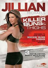 Jillian Michaels - Killer Buns & Thighs - Exercise / Fitness Workout (DVD)