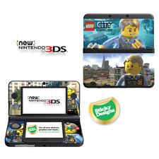 Lego City Undercover Vinyl Skin Sticker for NEW Nintendo 3DS (with C Stick)