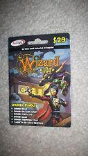 new Wizard 101 SHINOBI BUNDLE Game Card Crowns Dragon Mount Turtle Pet +