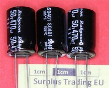 Rubycon YXF Radial Electrolytic Capacitor 470uF 50V 105C (Pk of 3)
