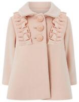 Girls Monsoon Pink Florence Princess Children Baby Coat 3 - 6 Months 2 - 3 Years