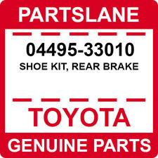 04495-33010 Toyota OEM Genuine SHOE KIT, REAR BRAKE
