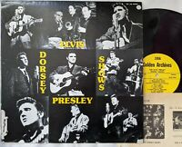 Elvis Presley DORSEY SHOWS compilation lp 1977 Golden Archives GA-100 MONO