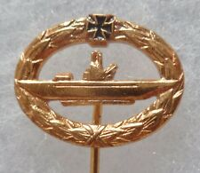 Insigne boutonnière Allemagne Sous Marin U BOOT BOAT SUBMARINE PIN BADGE Hamburg