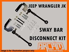 ARCHM4X4 JEEP WRANGLER JK FRONT HD QUICK SWAY BAR DISCONNECT KIT