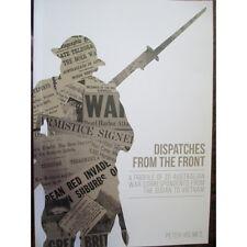 Dispatches from the Front Australian War Correspondents Book WW1 WW2 Vietnam