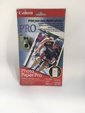 CANON PHOTO PAPER PRO 4X6 20 SHEETS 5699A006AA GENUINE PC-101S PC101S