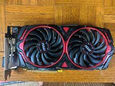MSI AMD Radeon RX 580 8GB GDDR5 Graphics Card