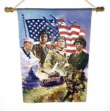 Armed Forces Flag [4th of July/Military/Memorial/Us a/American] - Judy's Flags