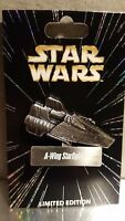 Disney Star Wars Pin Vehicles A-Wing LE ROTJ Rebel alliance Snap wexley