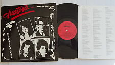 CHEATERS - Self Titled s/t PRIVATE 1981 AOR Hard Rock (LP) + Lyric Insert