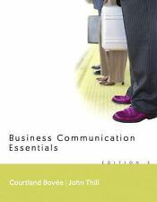 Business Communication Essentials, Thill, Good Book