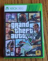 Grand Theft Auto V 5 ( Microsoft Xbox 360, 2013) Brand New Sealed