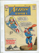 ACTION COMICS #258 (4.5) SUPERGIRL'S FAREWELL TO EARTH! 1959