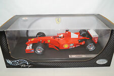 Mattel Hot Wheels FERRARI F2001 MICHAEL SCHUMACHER racing 1/18 50202