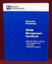 1988 National Semiconductor Advanced Peripherals ~ Dram Management Handbook