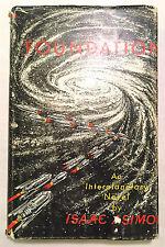Foundation - Isaac Asimov Gnome Press 1st Edition 2nd Printing 1951 HCDJ SciFi