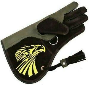 Falconry Glove Leather Bird Handling Glove. Falconry Glove