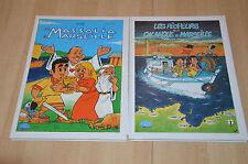 lot 2 BD Marseille : Massalia + Les pêcheurs de la calanque / Mers & Soleils