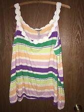 Old Navy Plue Womans 2XL Striped tank top
