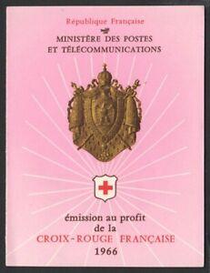 001- CARNET DE TIMBRES CROIX ROUGE 1966 - NEUF