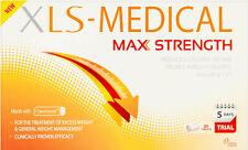 20 Compresse XLS MEDICAL MAX STRENGTH Dieta Pillole Dimagranti Perdita di peso 5 giorni di prova