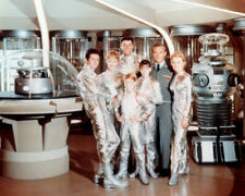 Lost In Space Cast & Robot Spacesuits 8x10 Photo
